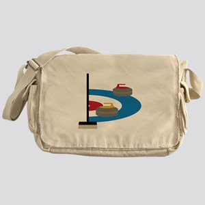 Curling Sport Messenger Bag