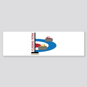 Curling Team Bumper Sticker