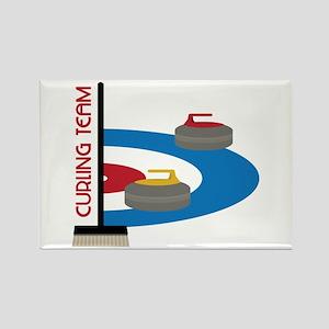 Curling Team Magnets
