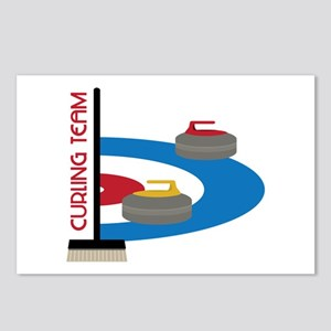 Curling Team Postcards (Package of 8)