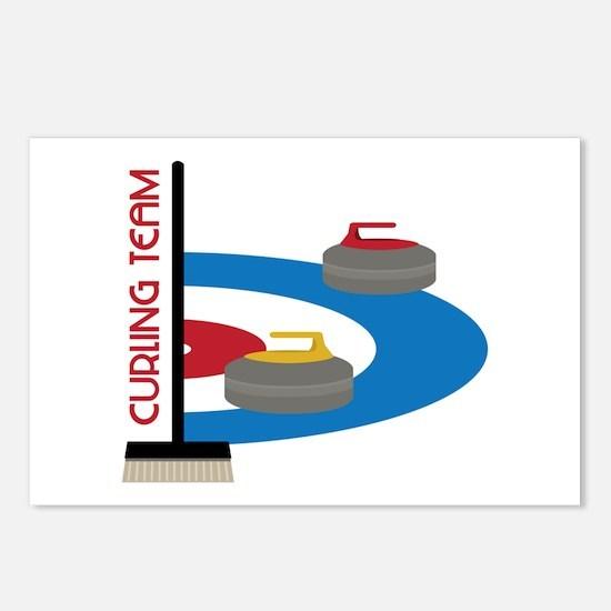 Curling Team Postcards (Package of 8)