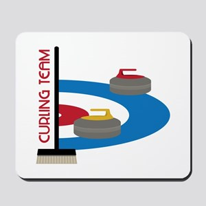Curling Team Mousepad