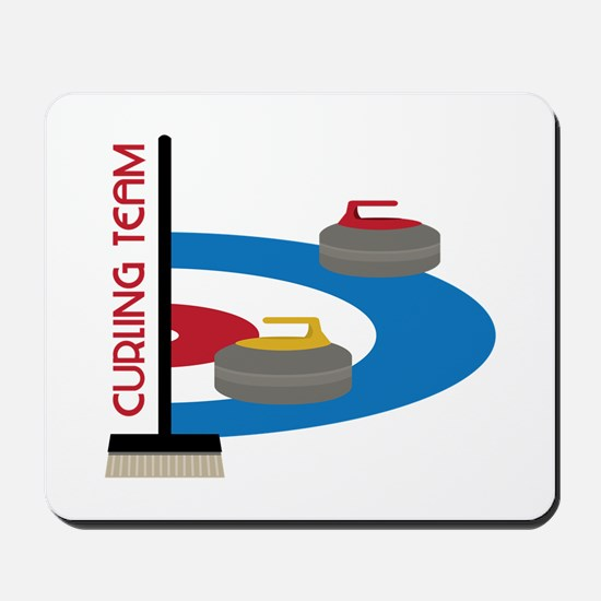 Curling Team Mousepad