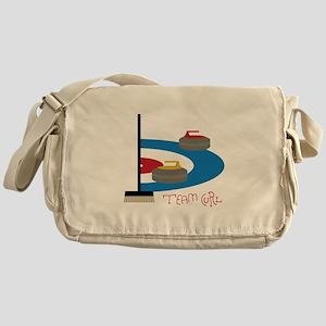 Team Curl Messenger Bag