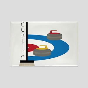 Curling Sport Magnets