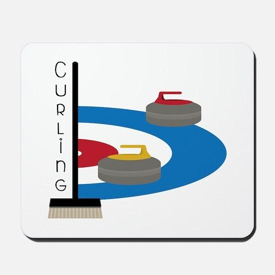 Curling Sport Mousepad