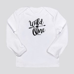 Wild One 1st Birthday Baby Shi Long Sleeve T-Shirt