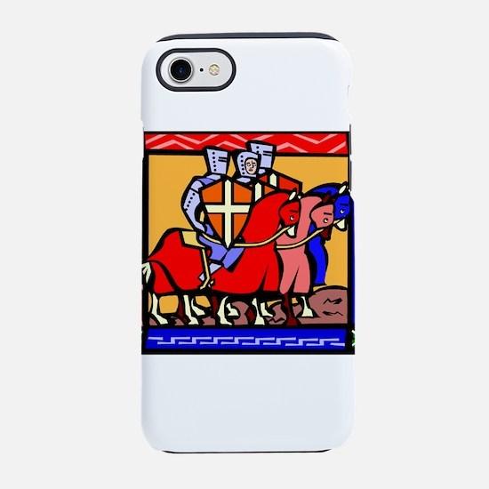 Knights Templar iPhone 8/7 Tough Case