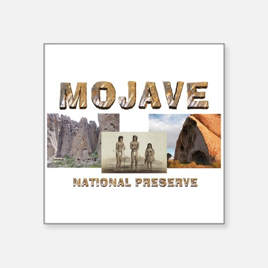 "ABH Mojave National Preserv Square Sticker 3"" x 3"""