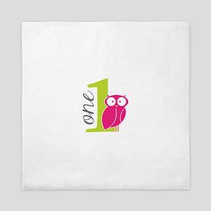 One Owl Queen Duvet