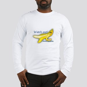 I Throw Bananas Long Sleeve T-Shirt
