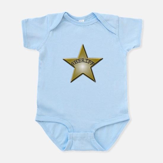 Sheriff Badge Infant Bodysuit