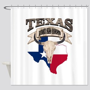 Bull Skull Texas home Shower Curtain