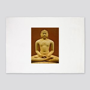 Buddha Meditating 5'x7'Area Rug