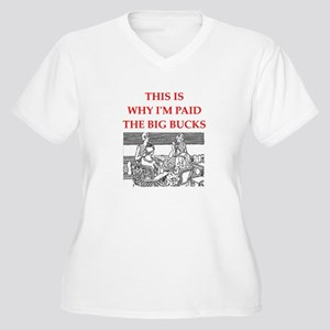 card player Plus Size T-Shirt