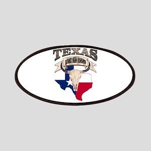 Bull Skull Texas home Patch