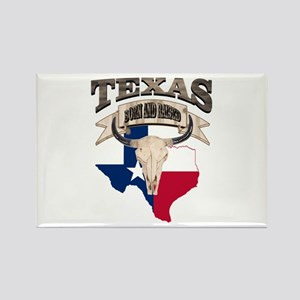 Bull Skull Texas home Magnets