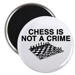 Chess is Not a Crime Magnet