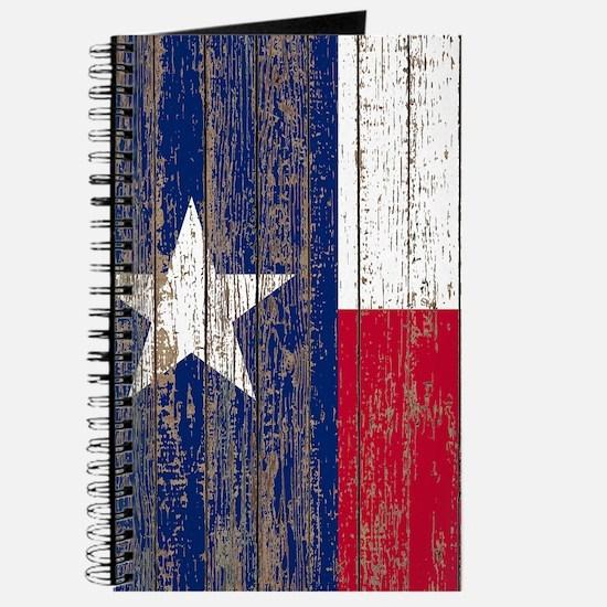 barn wood Texas Flag Journal