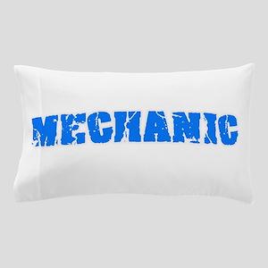 Mechanic Blue Bold Design Pillow Case