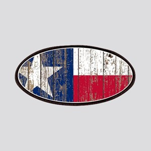 barn wood Texas Flag Patch