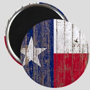 barn wood Texas Flag Magnets