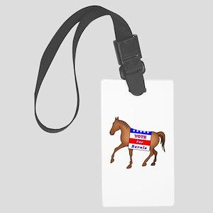Bernie Horse Large Luggage Tag