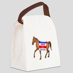 Bernie Horse Canvas Lunch Bag