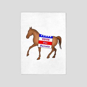 Bernie Horse 5'x7'Area Rug