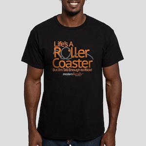 modern family roller Men's Fitted T-Shirt (dark)