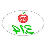 Pi Day 3.14 Sticker