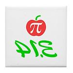 Pi Day 3.14 Tile Coaster