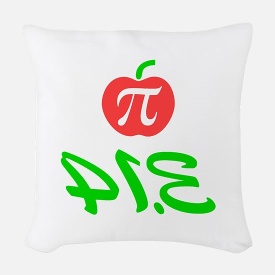 Pi Day 3.14 Woven Throw Pillow