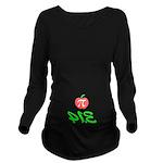 Pi Day 3.14 Long Sleeve Maternity T-Shirt