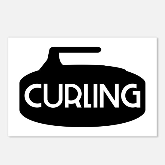 Curling Rock Postcards (Package of 8)