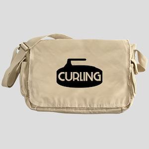 Curling Rock Messenger Bag