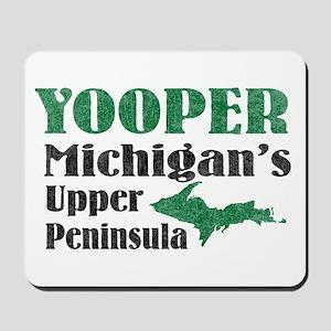 Yooper Michigan's U.P. Mousepad