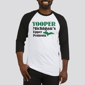 Yooper Michigan's U.P. Baseball Jersey