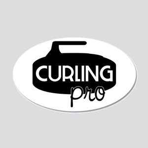 Curling Pro Wall Decal