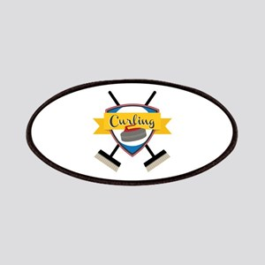 Curling Logo Patch