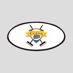 Curling Logo Patch