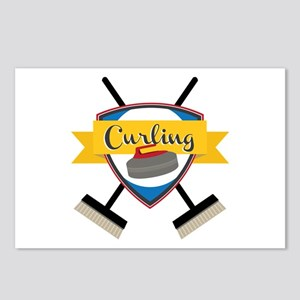 Curling Logo Postcards (Package of 8)