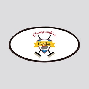 Championship Curling Patch