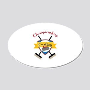 Championship Curling Wall Decal