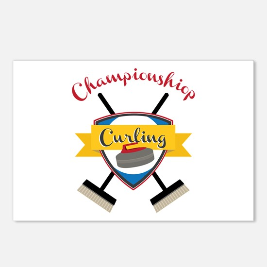 Championship Curling Postcards (Package of 8)