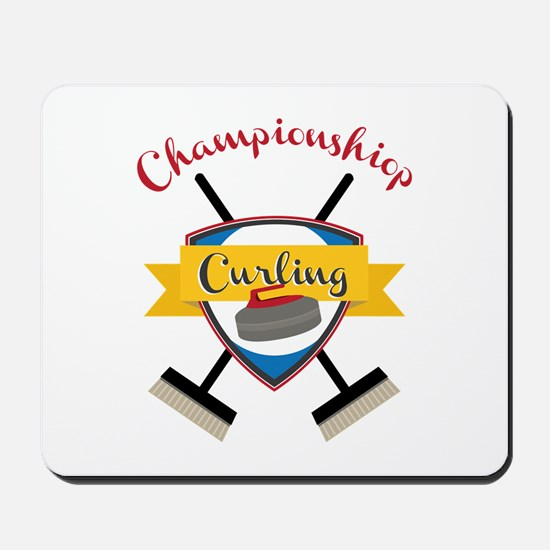 Championship Curling Mousepad