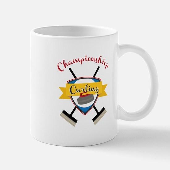 Championship Curling Mugs