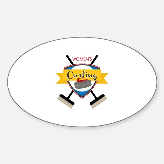 Womens Curling Decal