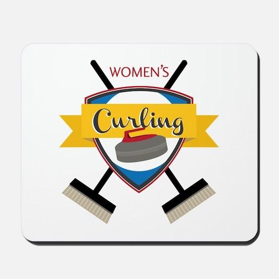 Womens Curling Mousepad