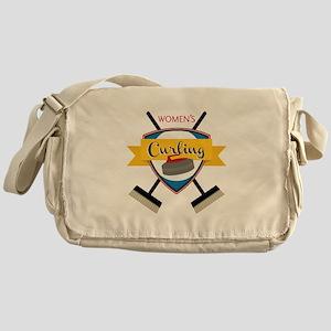 Womens Curling Messenger Bag
